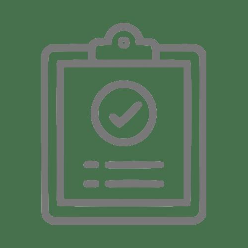 ícone que simboliza um resultado médico clínico
