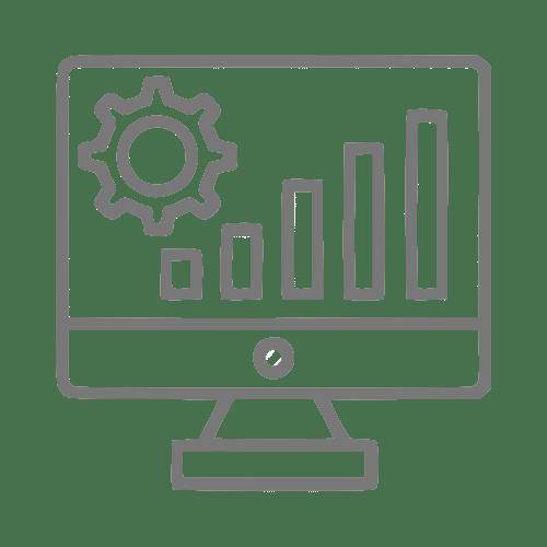 Ícone de tradução análise técnica industrial