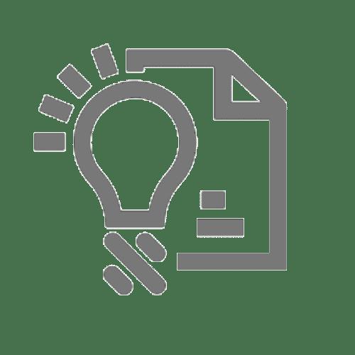Ícone que simboliza uma tradução de uma patente ou licença de propriedade intelectual