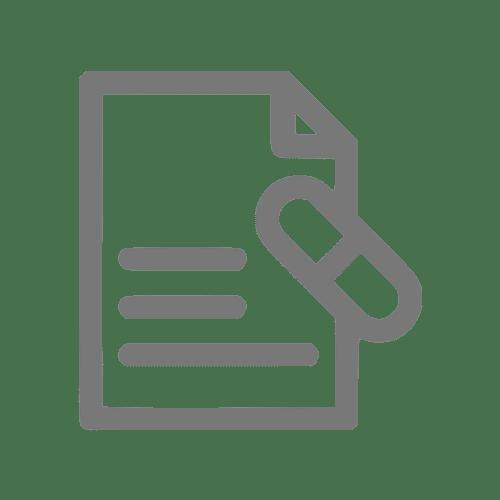 Ícone que simboliza uma receita médica