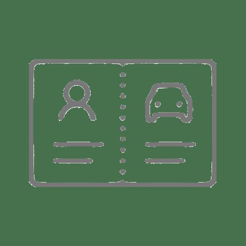 ícone que simboliza uma carteira
